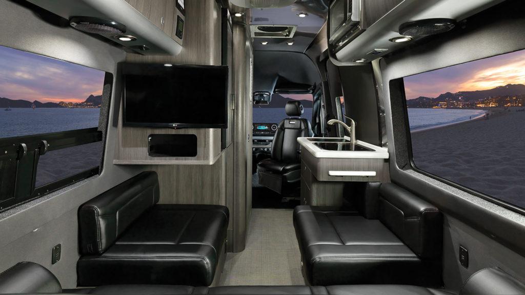 Airstream Interstate Nineteen Formal Black Interior