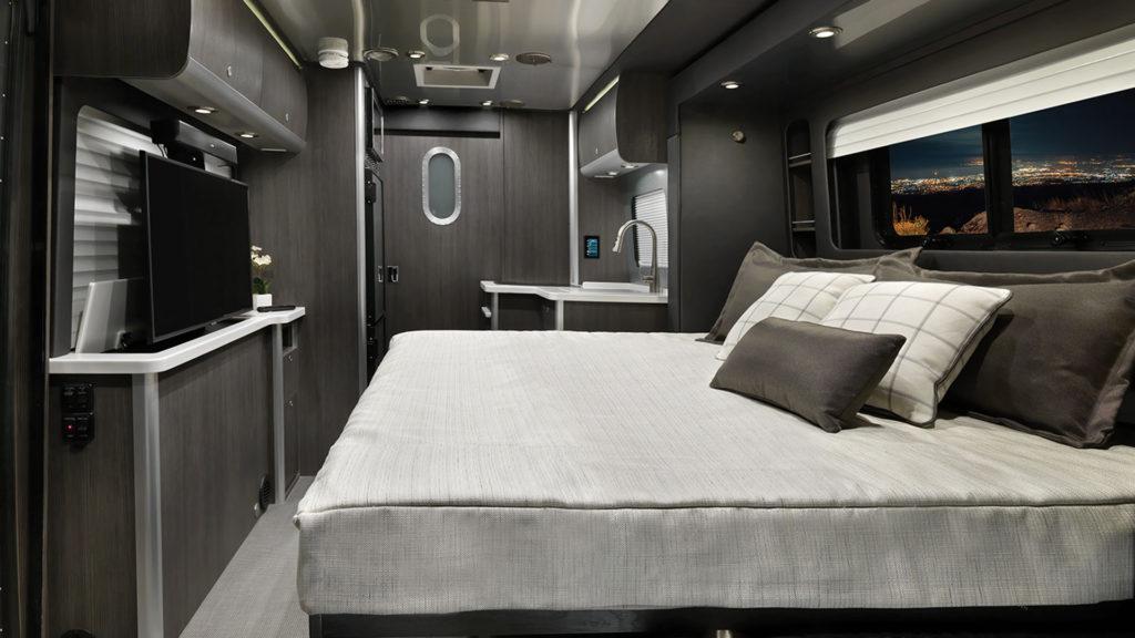 Airstream Atlas Formal Black Interior