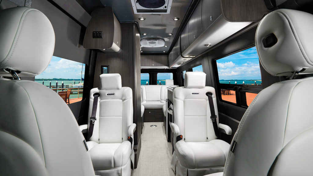 Airstream Interstate Lounge Lux White Interior