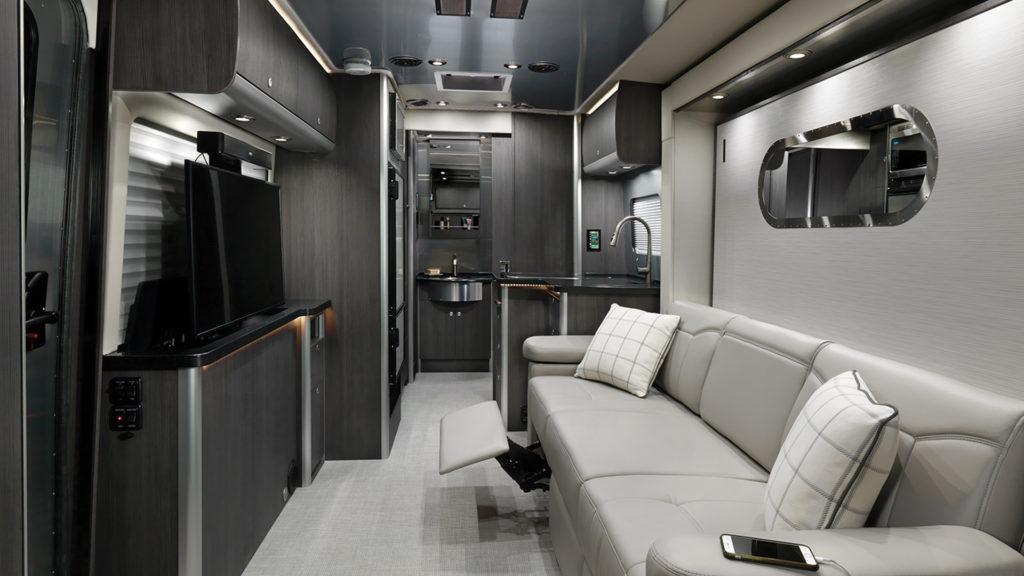 Airstream Atlas Modern Greige Interior