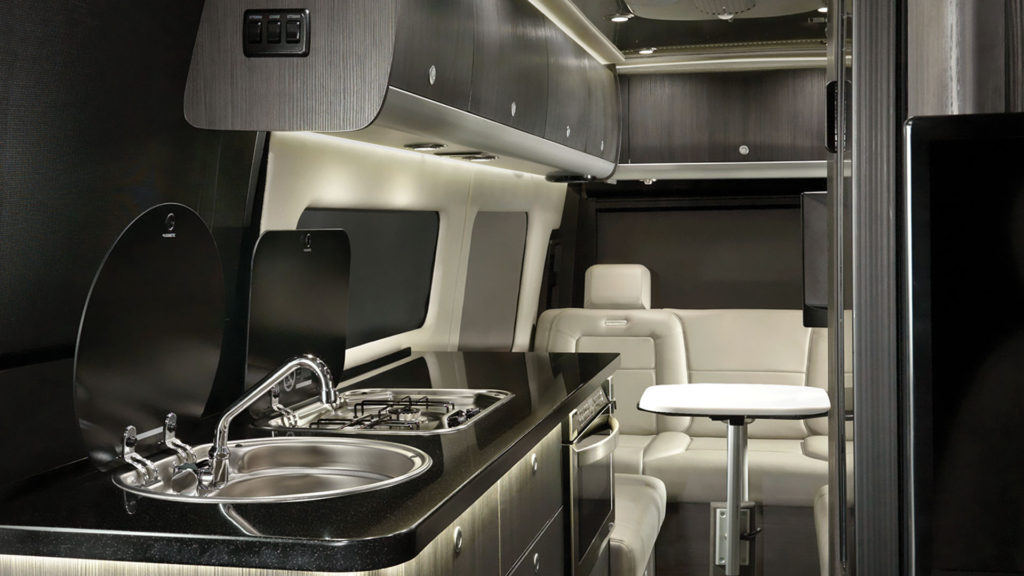 Airstream Interstate Grand Tour Modern Greige Interior