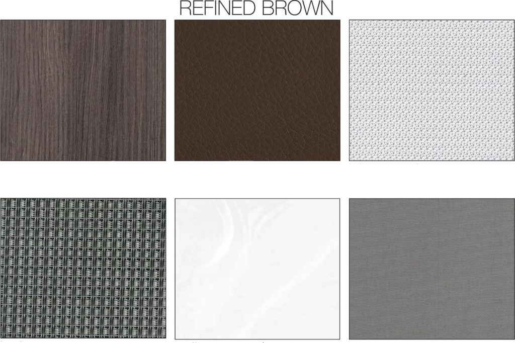 Refined Brown Decor Board