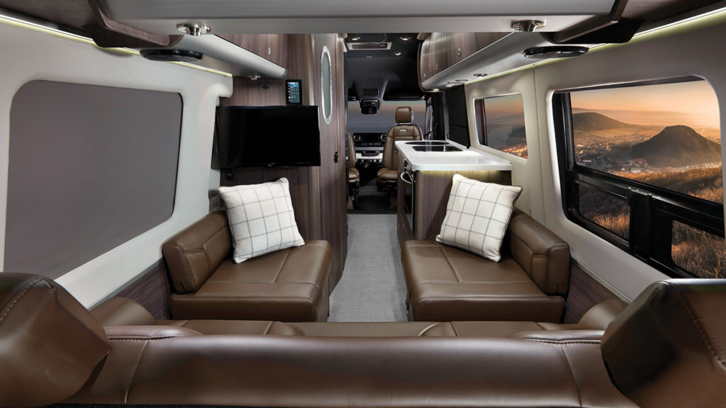 Airstream Interstate Grand Tour Refined Brown Interior