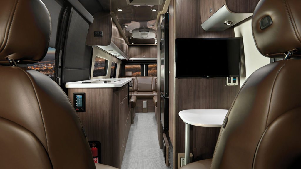 Airstream Interstate Nineteen Refined Brown Interior