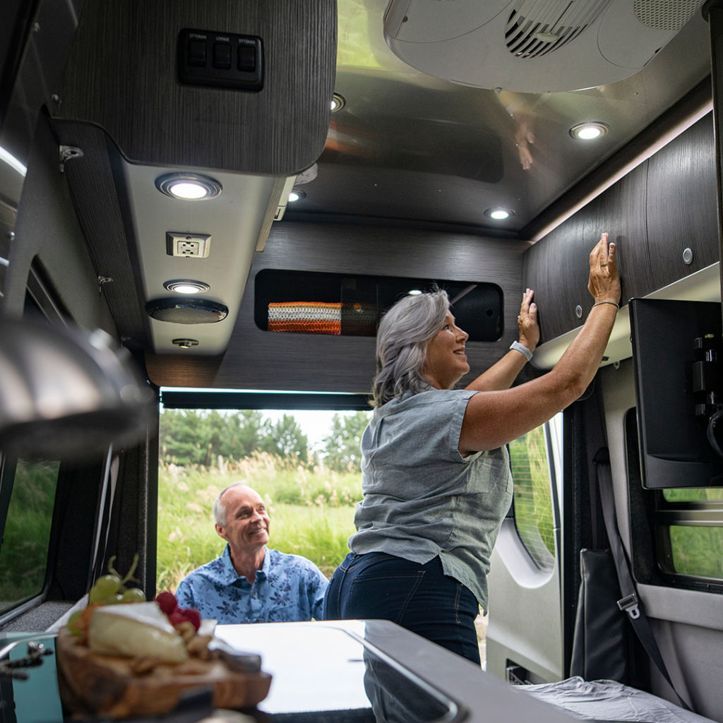 Airstream Interstate Luxury Storage