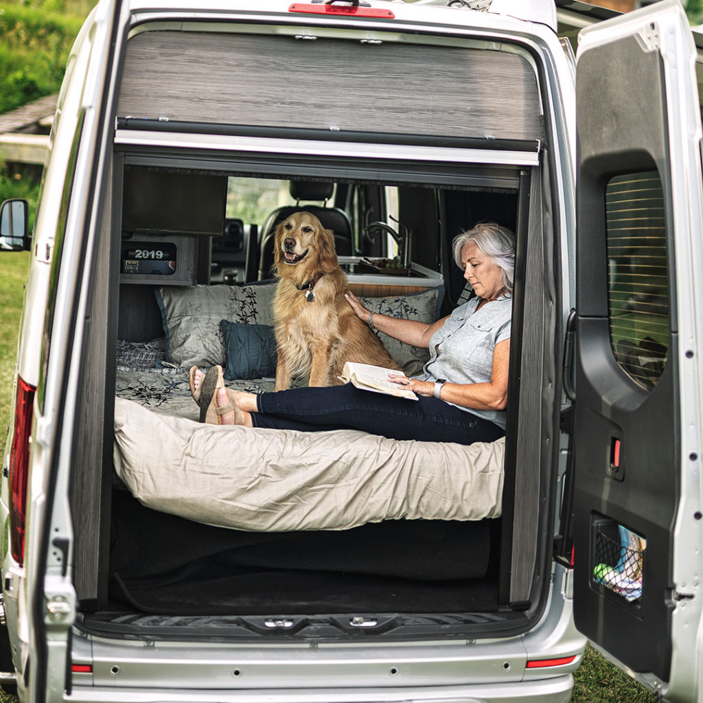 Airstream Interstate Vacation with dog