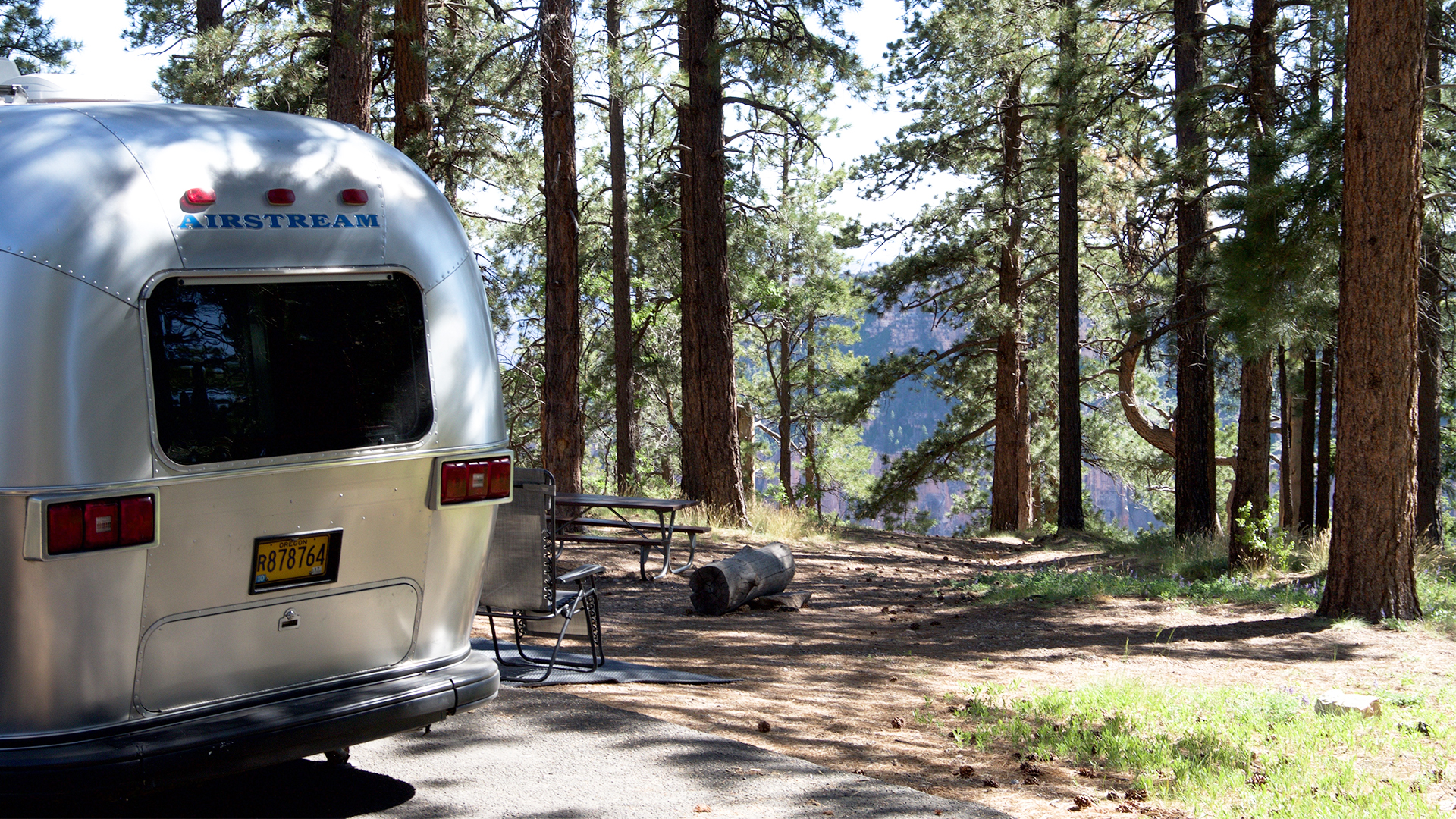 Airstream-Camping-North-Rim-Campground-with-travel-trailer