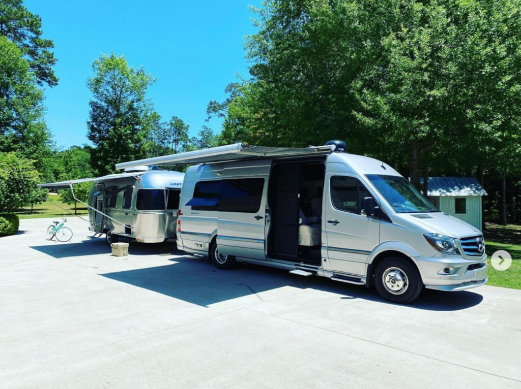 Airstream Interstate and Caraval Combo 1