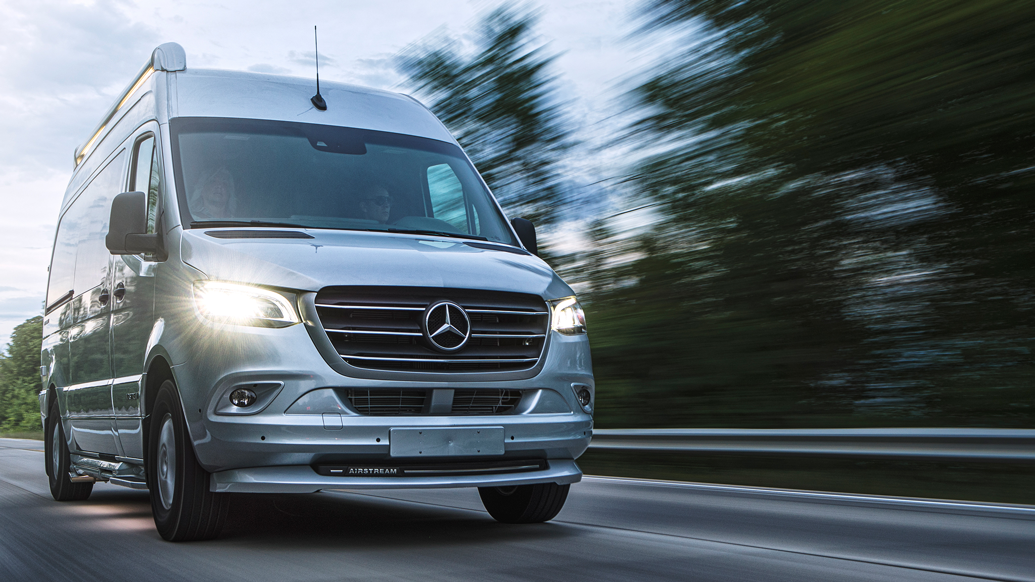 Airstream Touring Coaches   Class B and C Luxury Mercedes-Benz RVs