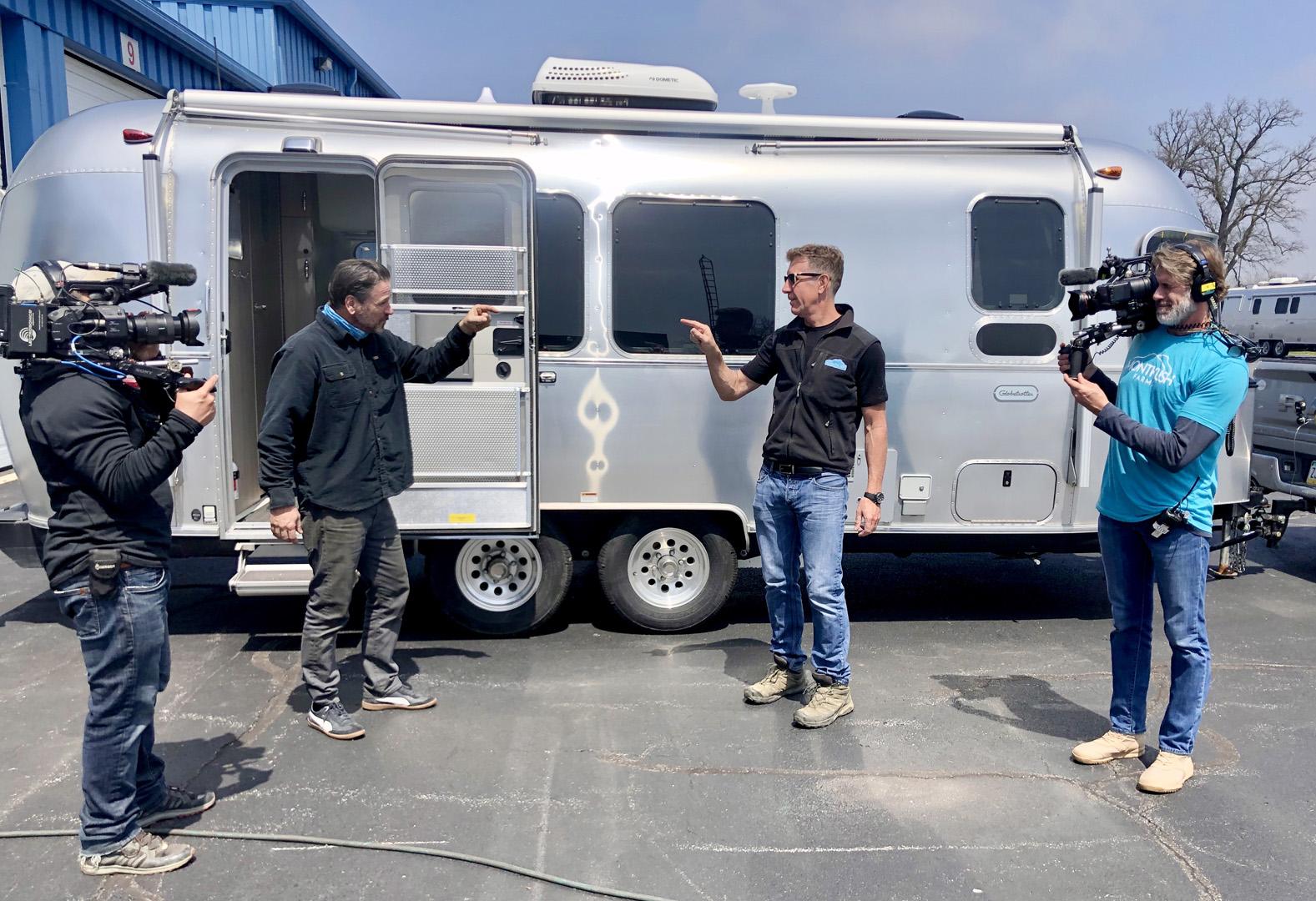 Airstream and Montkush with Anthony Sullivan Travel Trailer6