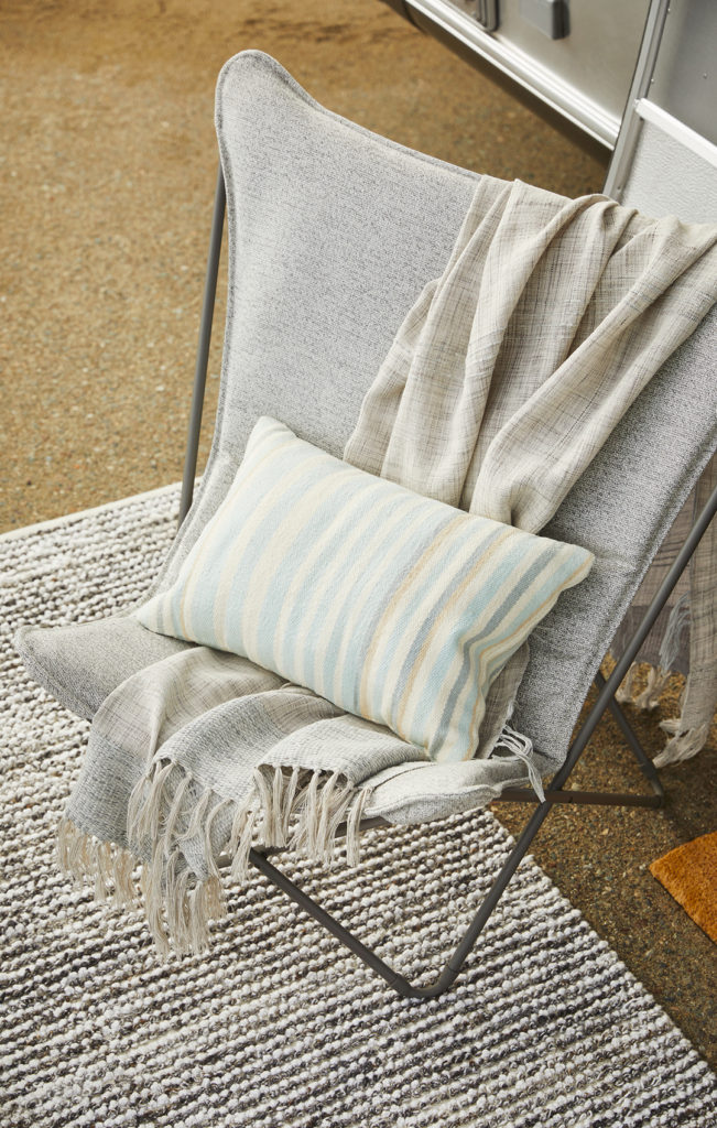 Airstream-and-Pottery-Barn-Chair-Pillow-Blanket