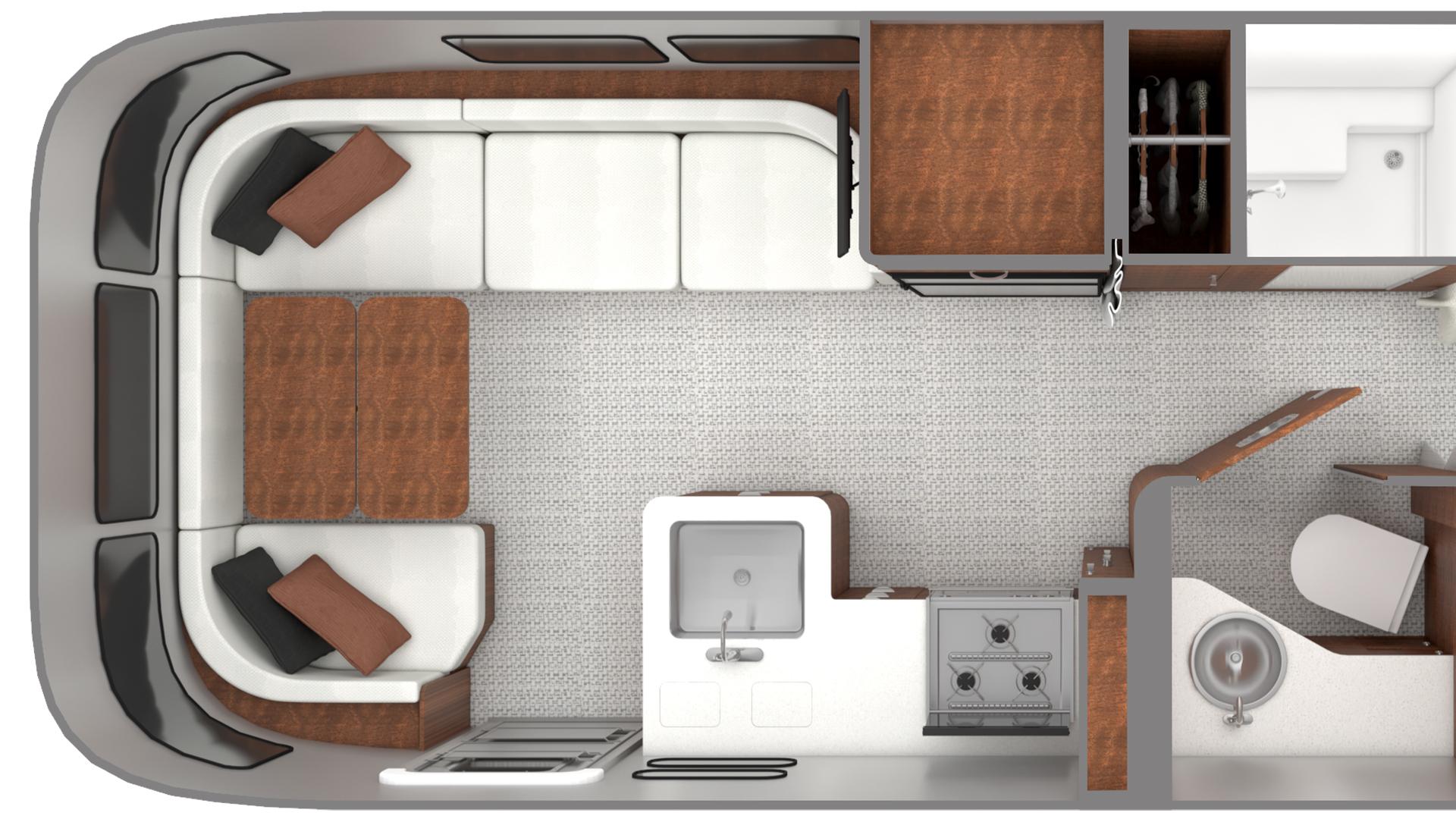 Airstream-Globetrotter-Updated-Dinette-Design