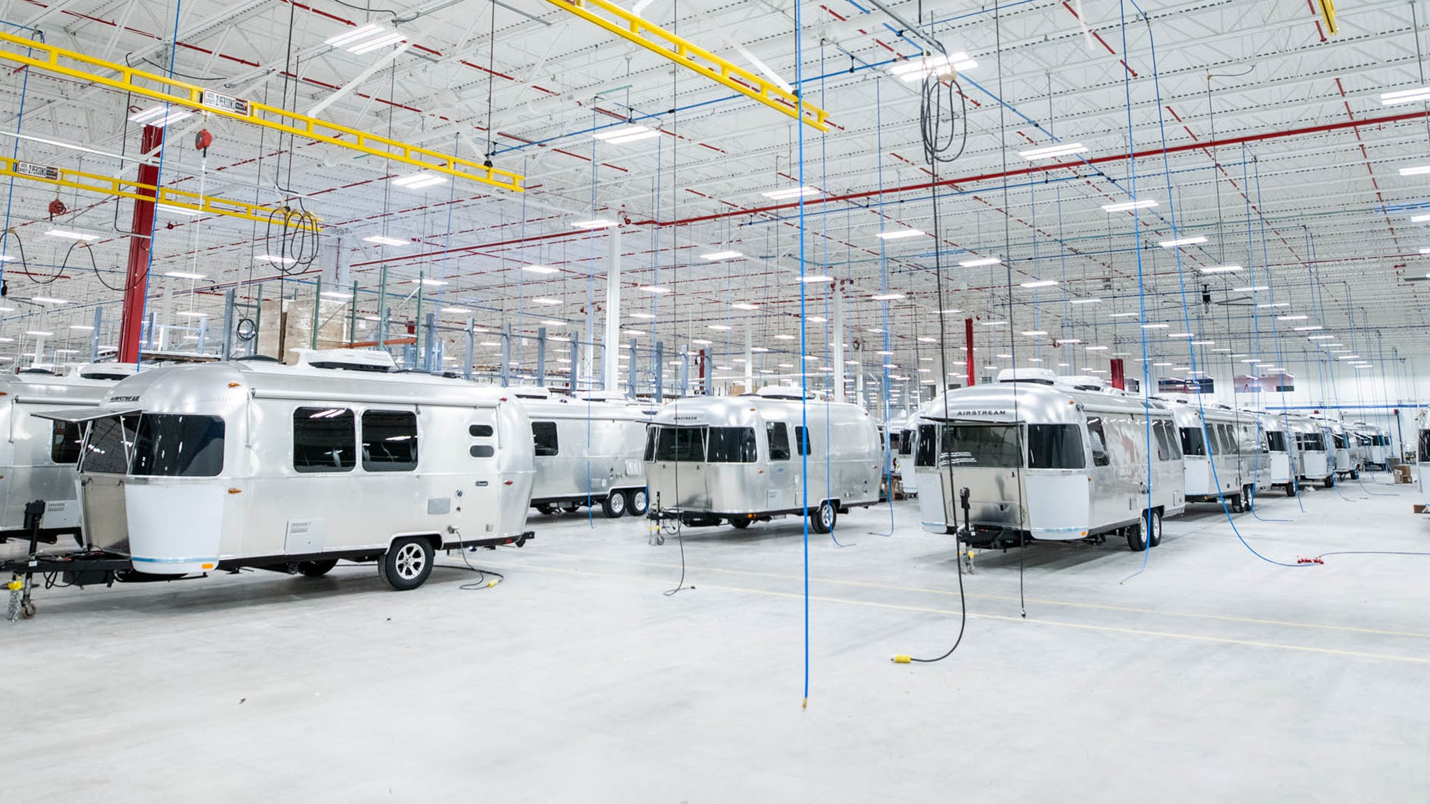 Airstream-Travel-Trailer-Production-Facility-in-June-2020
