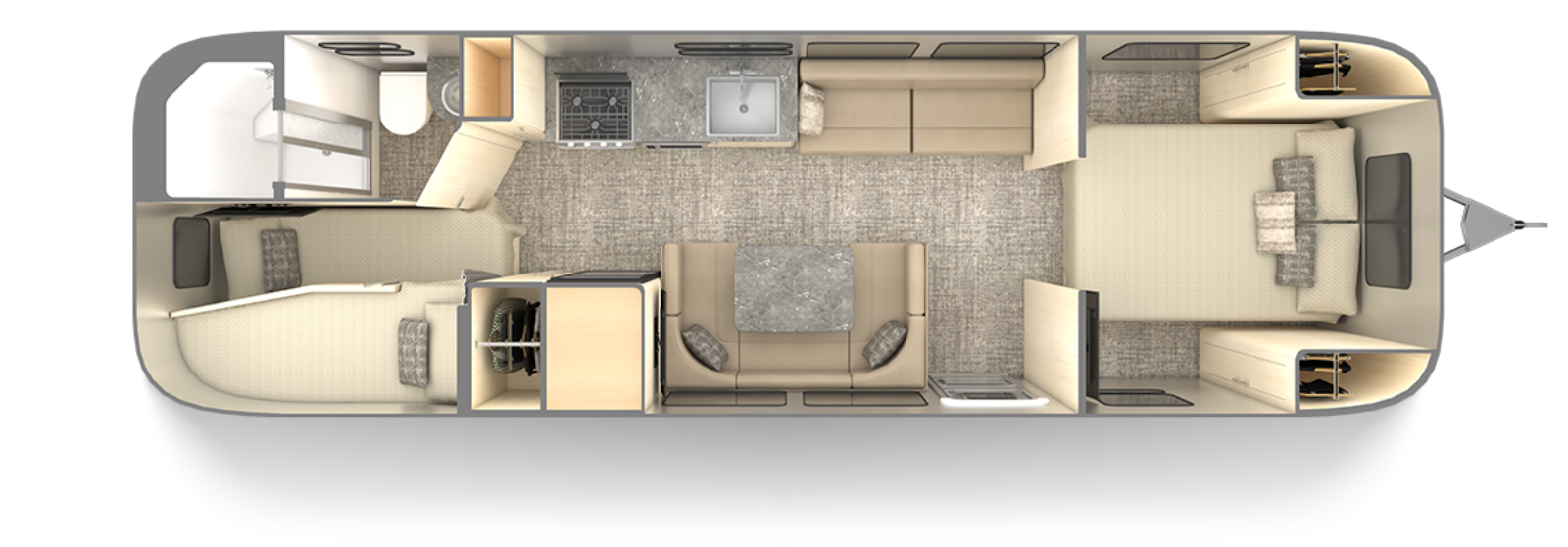 2021-flying-cloud-30FB-bunk-floor-plan-carolina-clay