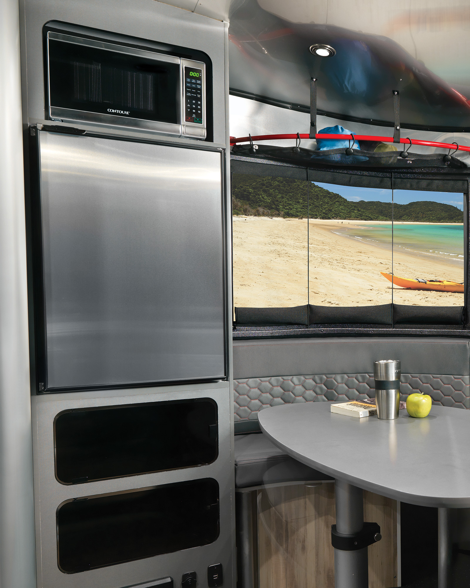 Airstream-Basecamp-20-Interior-Refrigerator-and-Microwave