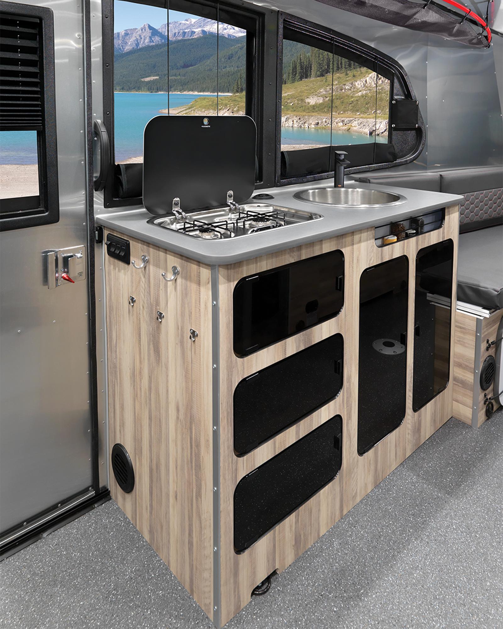 Airstream Basecamp 20 Interior Kitchen