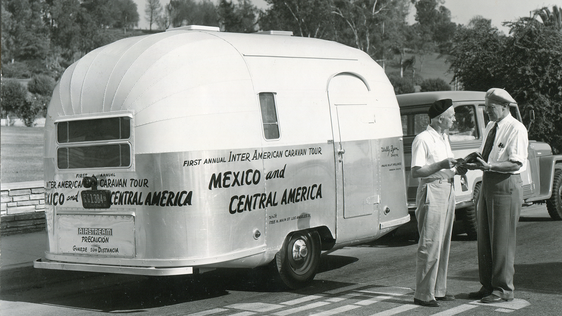 Airstream-Wally-Byam-Mexico-and-Central-America-Caravan-First-1951-1952-1