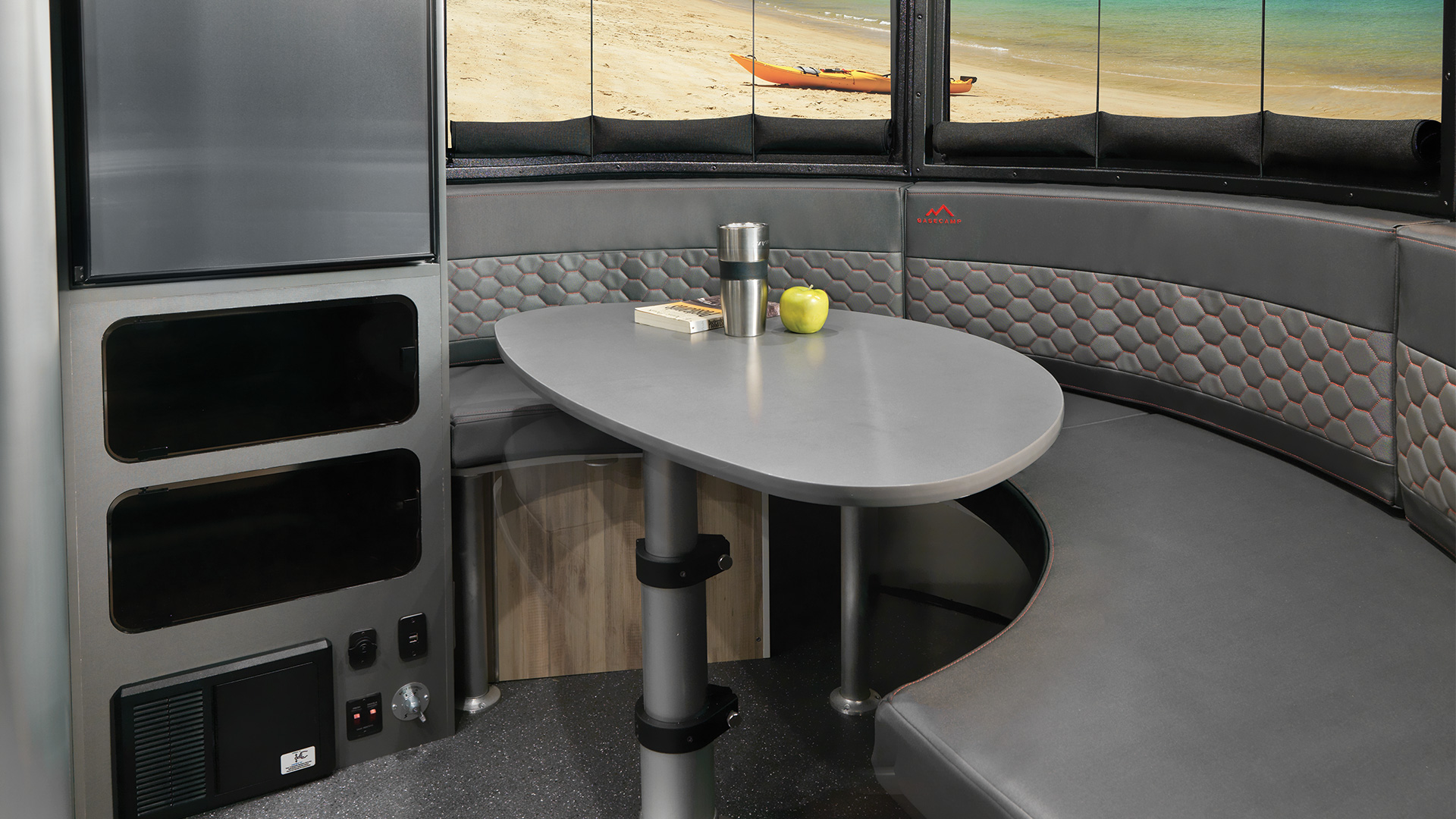 Basecamp-20-Front-Dinette-Convertible-Table