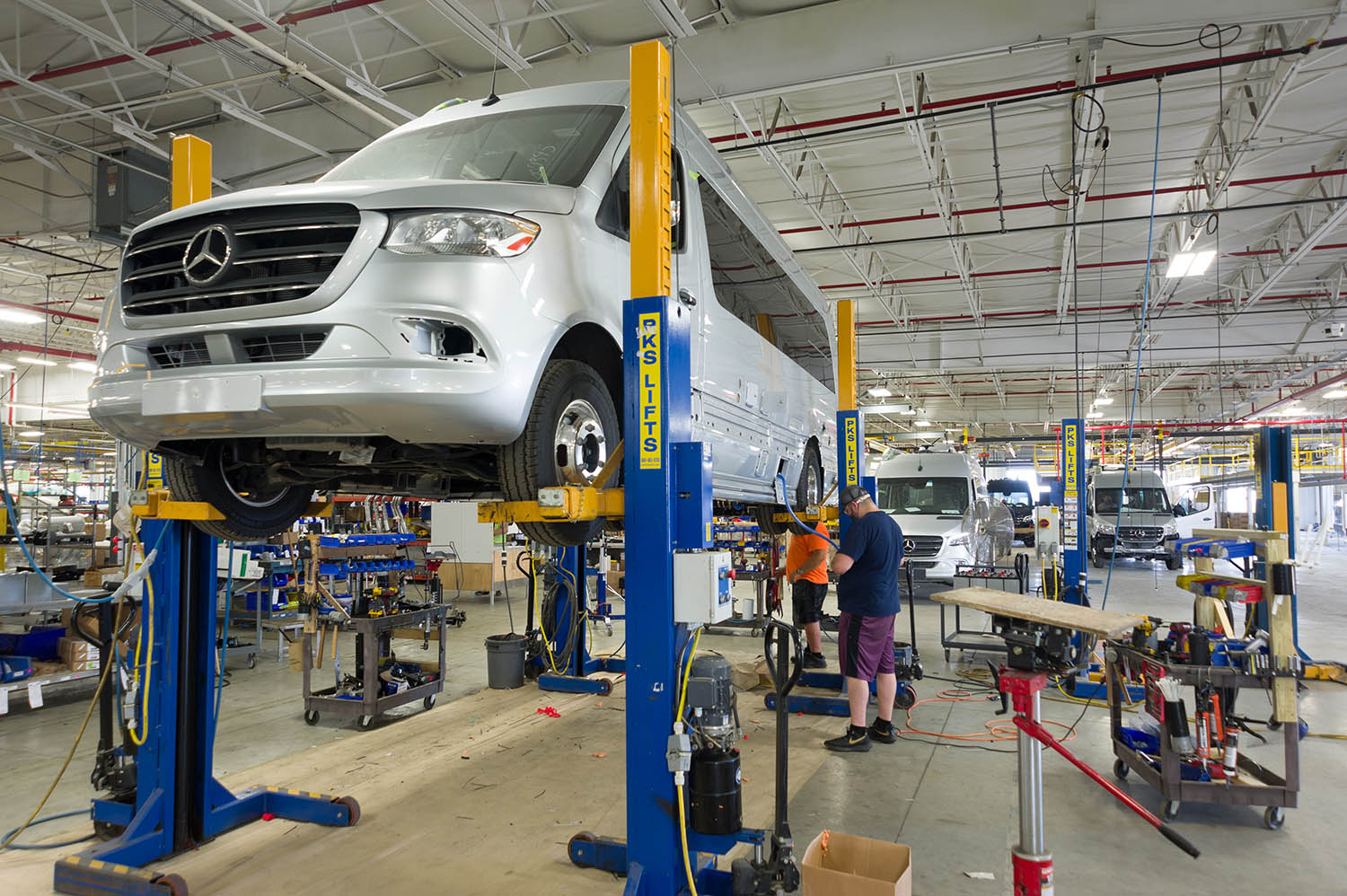 Airstream Touring Coach Production