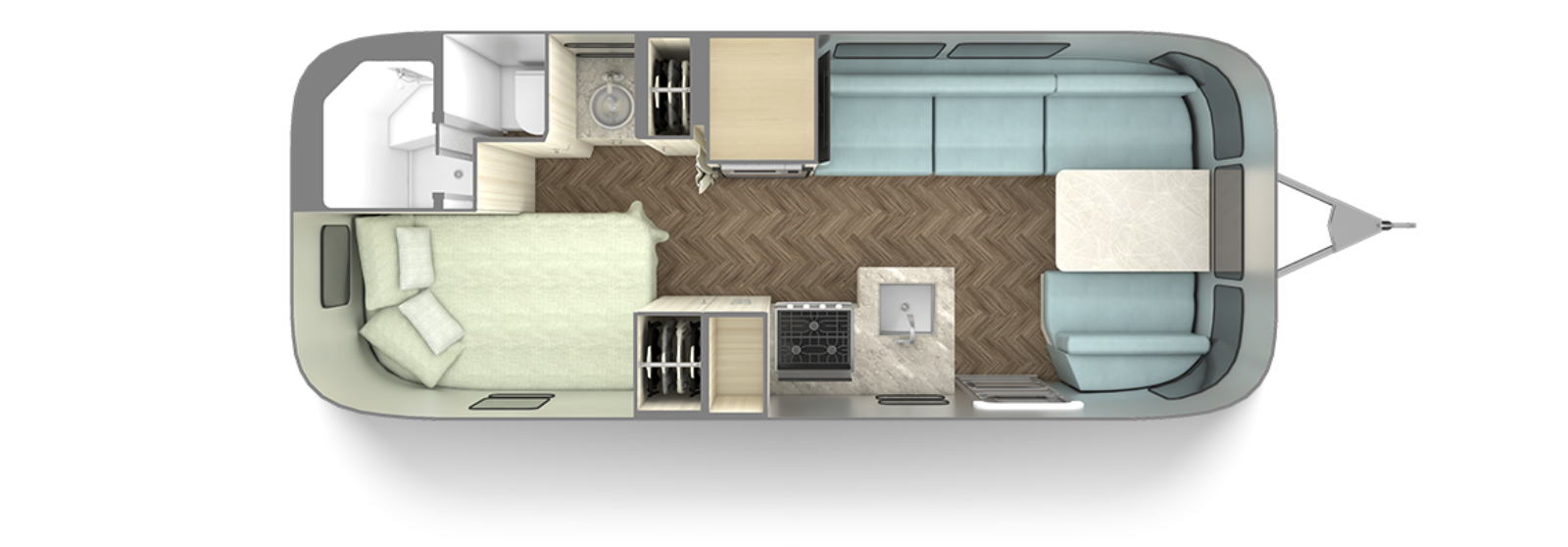 2021-Airstream-International-23CB-Floor-Plan-Aqua