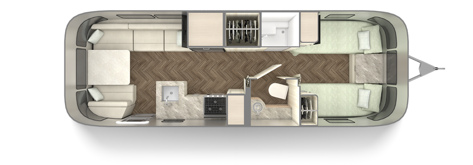 2021-Airstream-International-27FB-floor-plan-twin-seashell