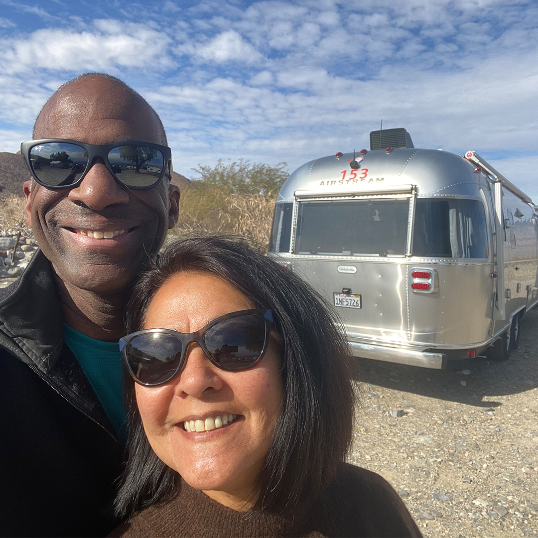Eric-and-LaVerne-McHenry-Selfie-with-Airstream