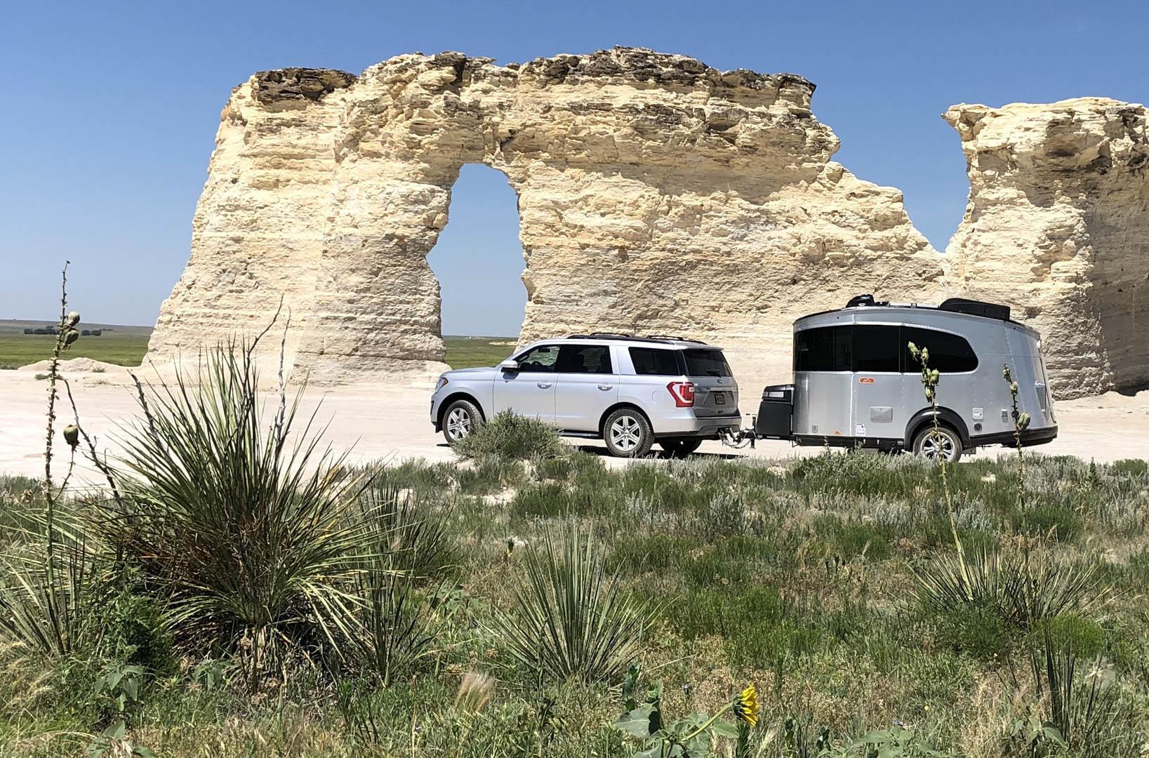 Basecamp rock formation