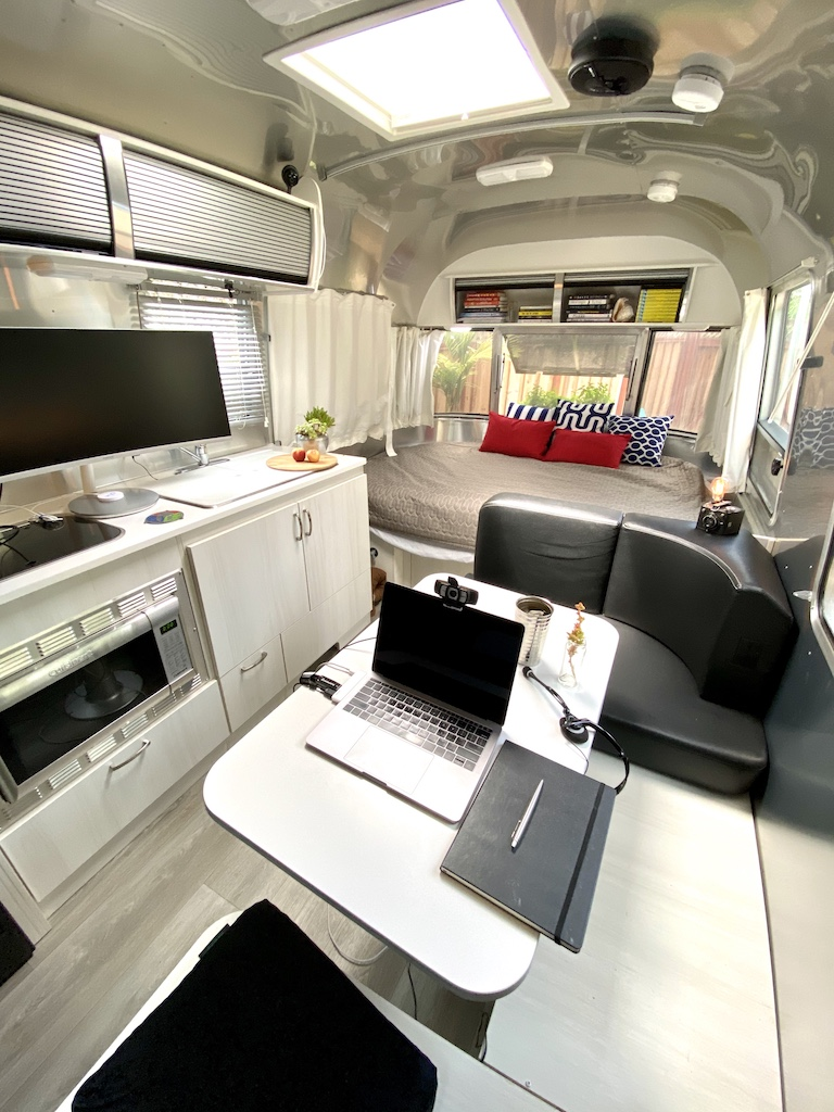 Airstream Mobile Office Jeremiah Owyang Travel Trailer RV