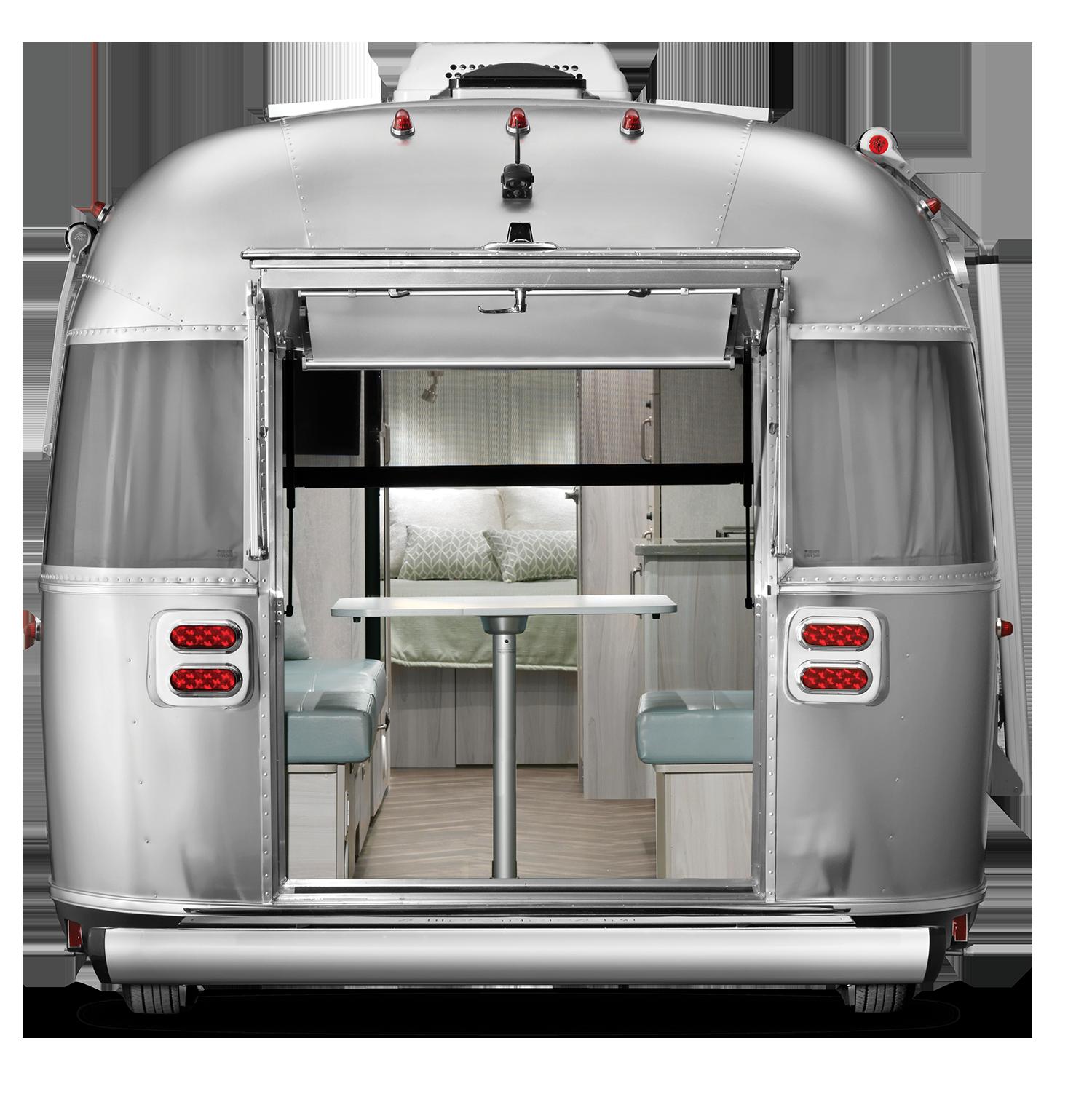 2021 International 27 Exterior Hatch Rear hatch open screen down WEB
