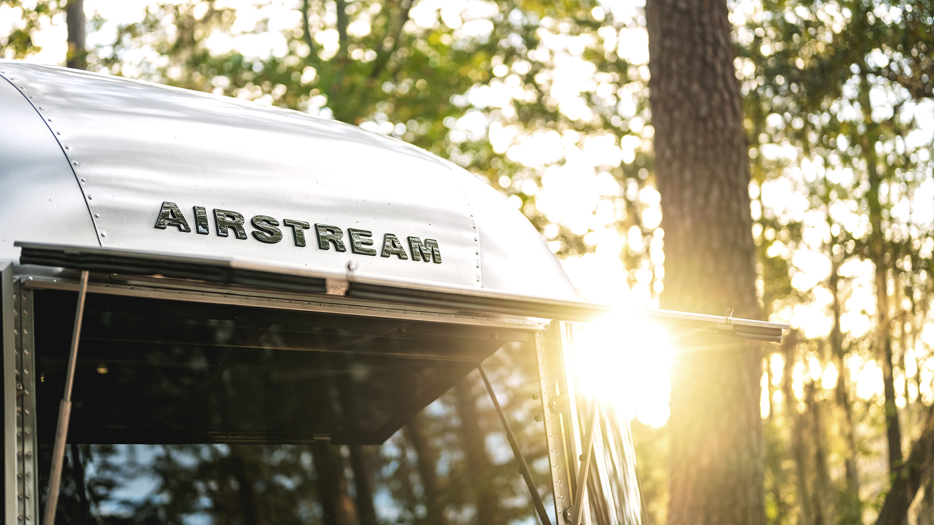 Airstream Sun and Solar Panel Power