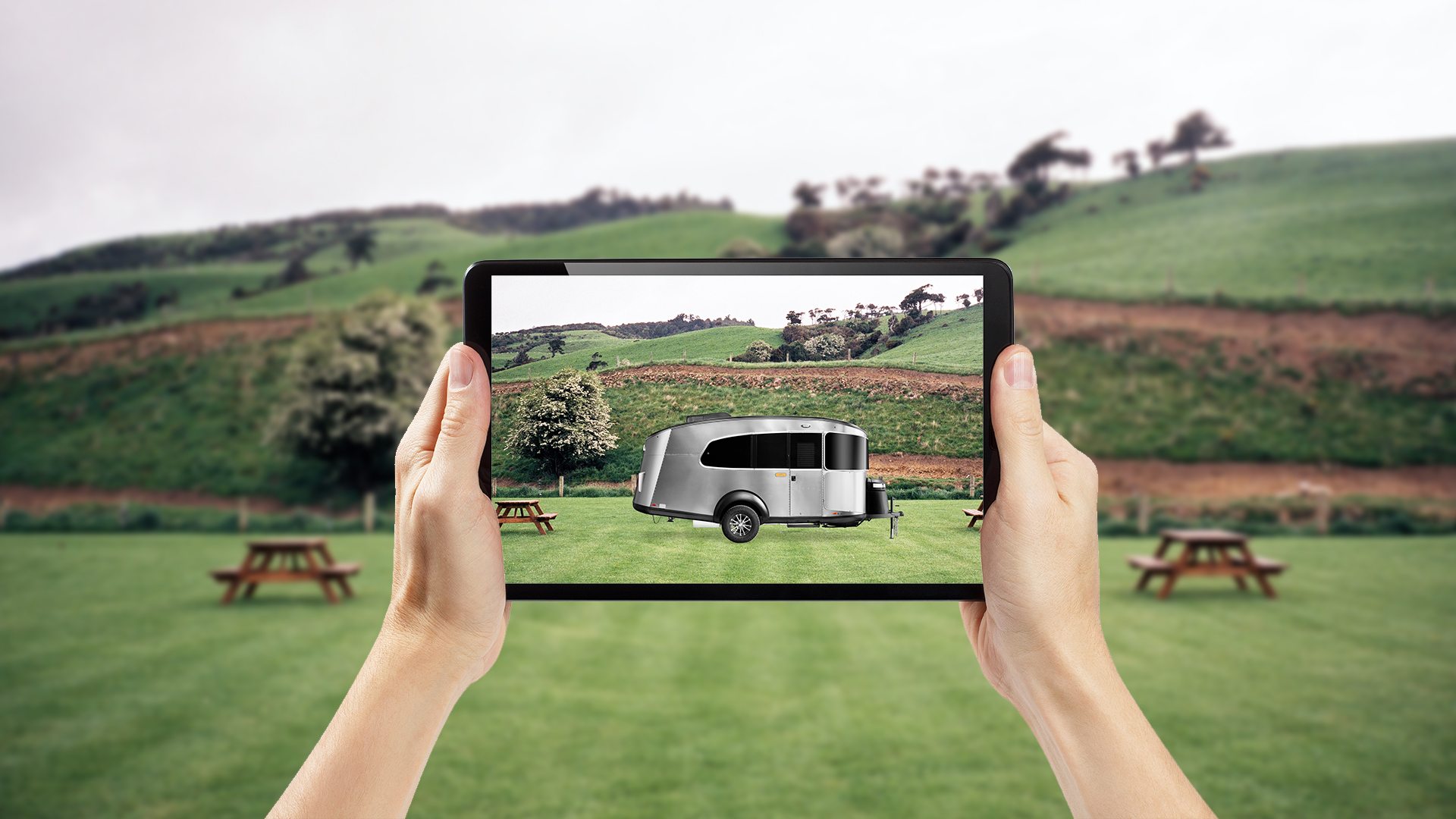 Airstream Basecamp 20X Augmented Reality