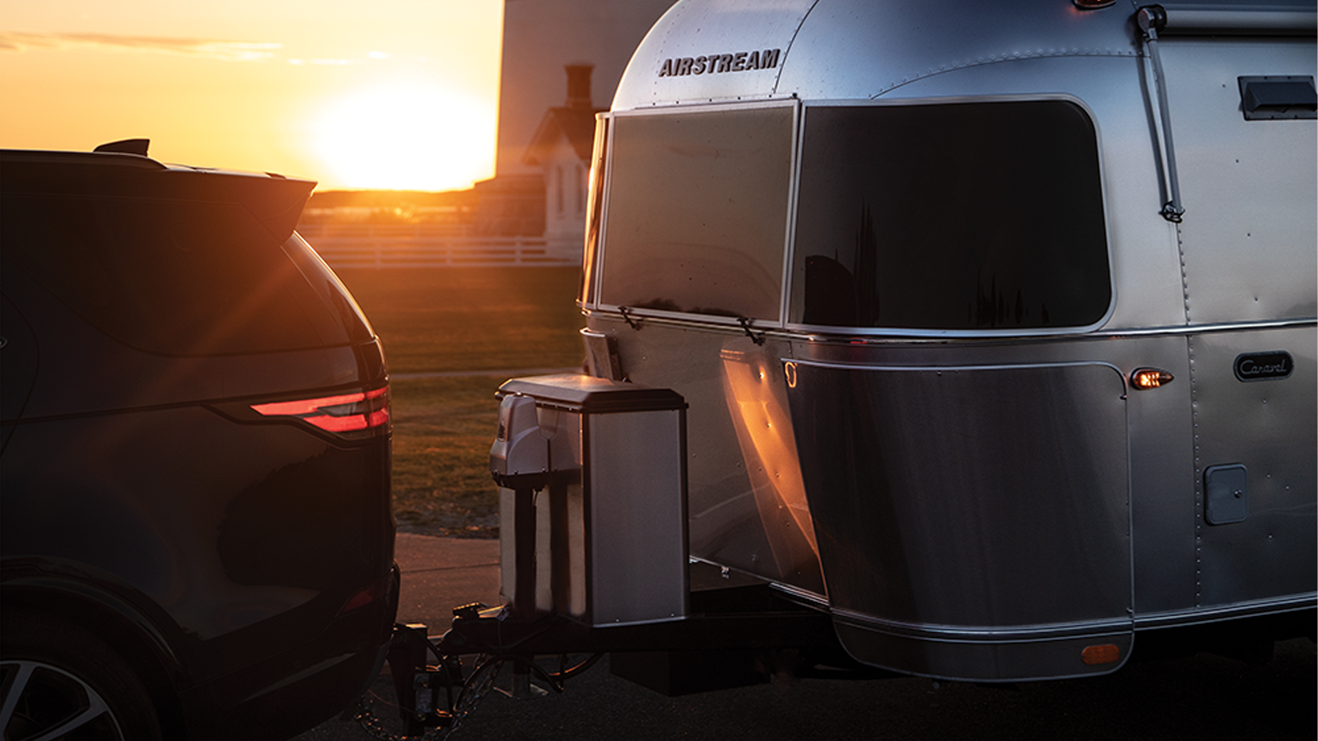 Hitching up an Airstream
