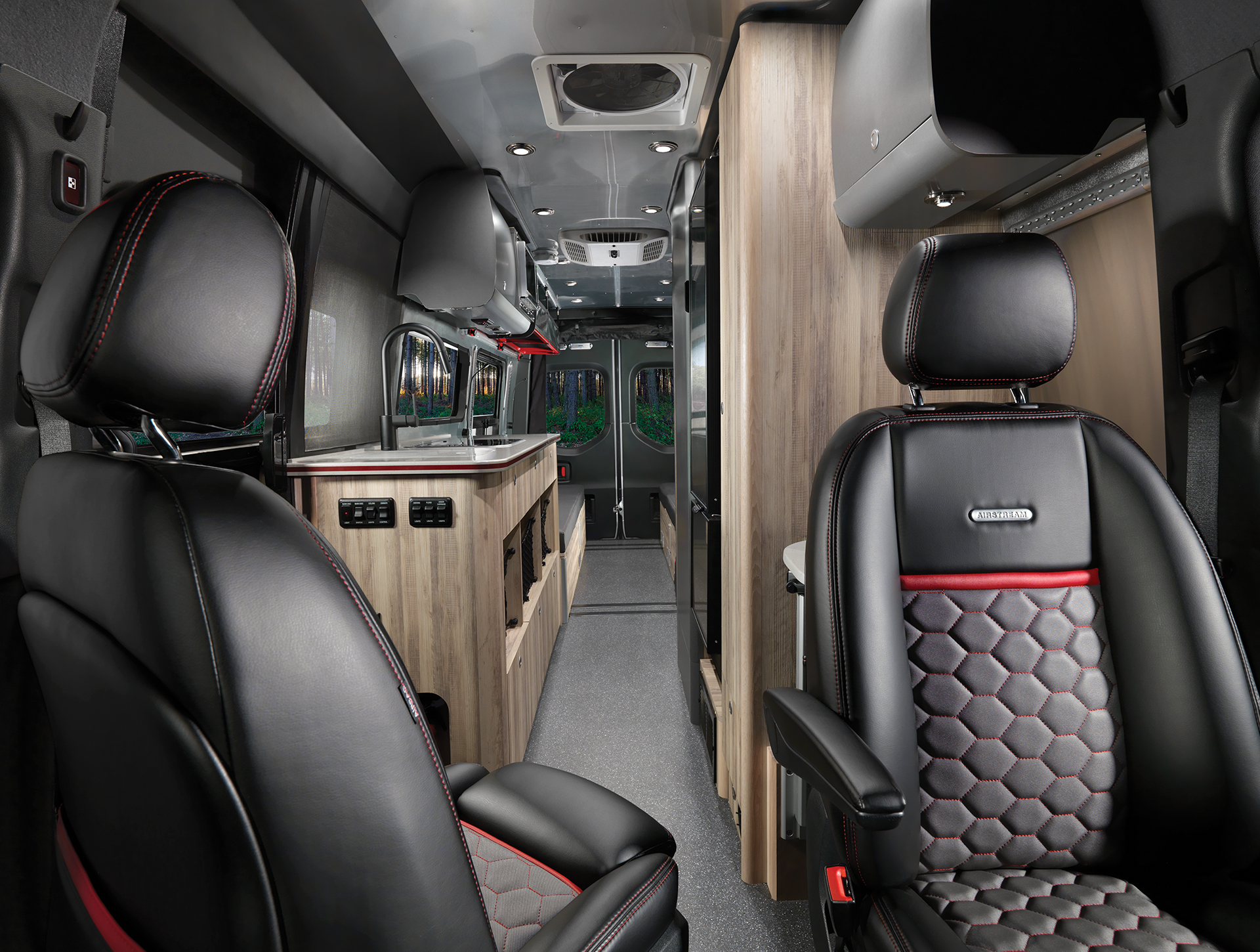 Airstream-Interstate-24X-Touring-Coach-Adventure-Van-Interior-Front-to-Back