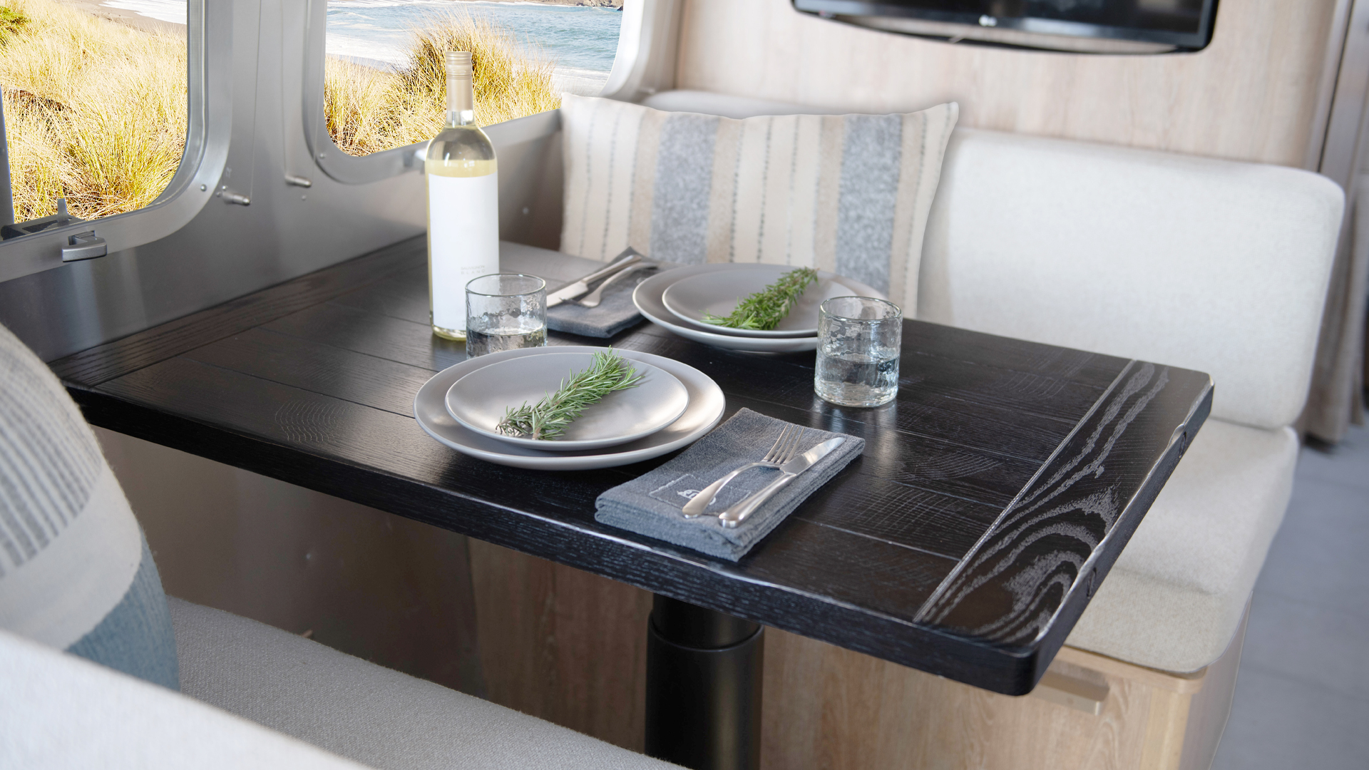 Airstream-X-Pottery-Barn-Dinette-Wood-Table
