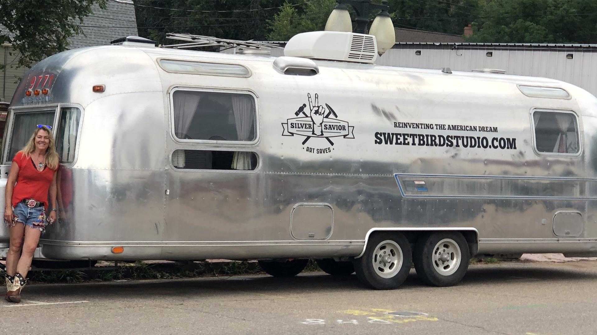 Airstream Travel Trailer Sweet Bird Studio