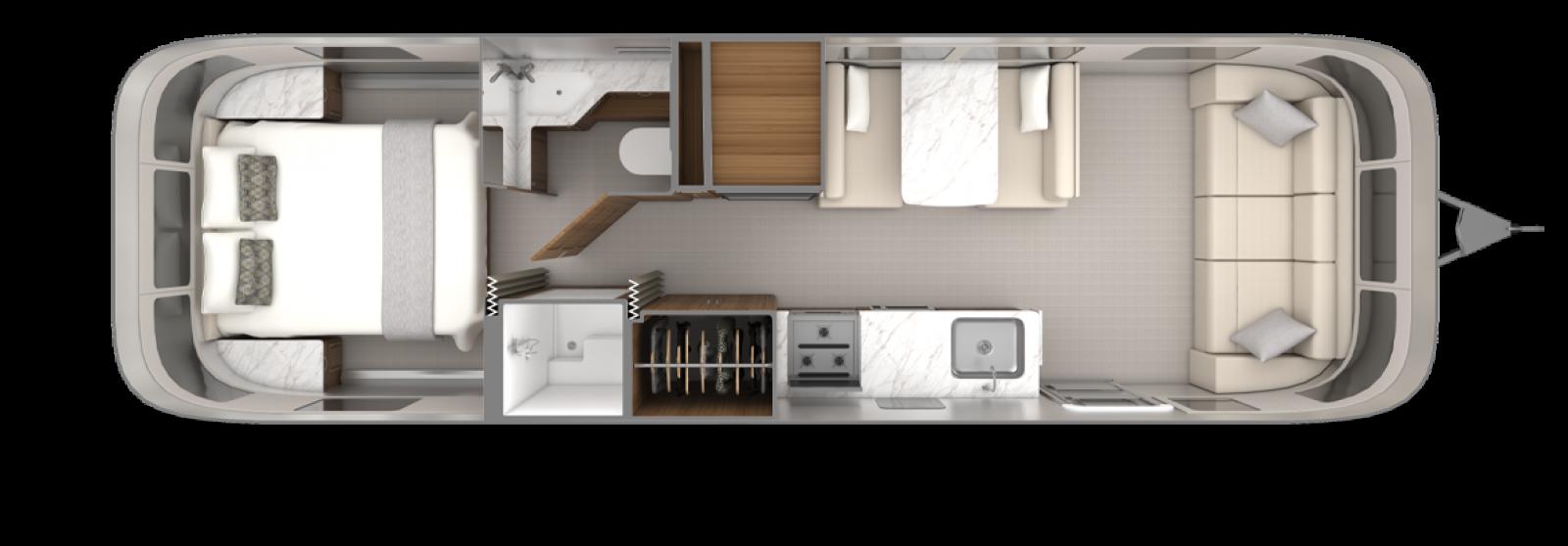2022_Classic30RB_Floorplan_EstateBrown_Chamomile