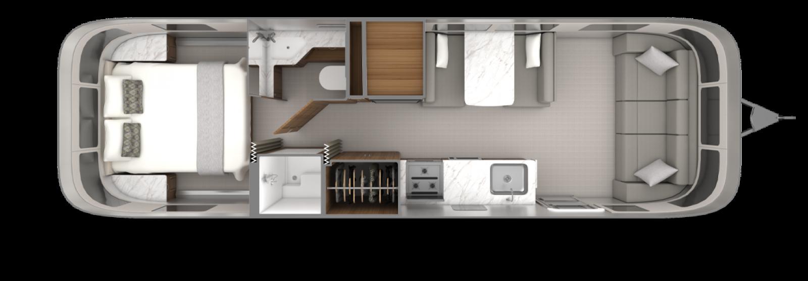 2022_Classic30RB_Floorplan_EstateBrown_EarlGrey