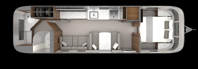 2022_Classic33FB_Floorplan_EstateBrown_EarlGrey