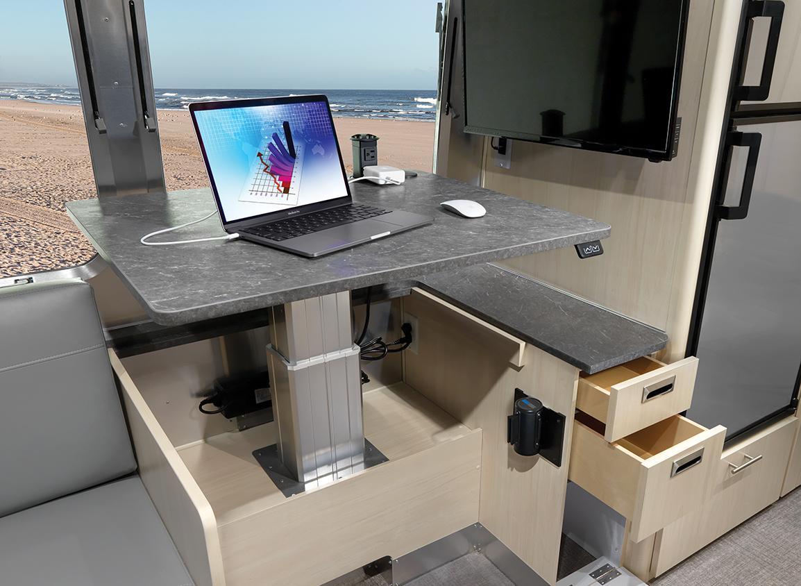 AIRMKT-2021-Flying-Cloud-27FB-Desk-Option-Interior-Desk-Up-Drawers-Out-95350-WEB-(1)